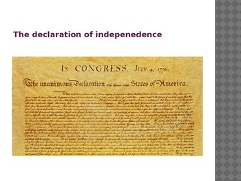 The Declaration, Articles of Confederation and the Constitution