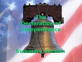 The United States Declaration of Independence - Summary Version
