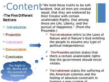 The Declaration of Independence 1776 - PowerPoint Presentation