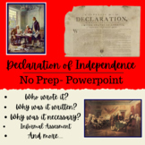 The Declaration of Independence-4th Grade