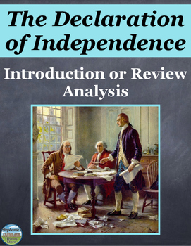 The Declaration of Independence Review Activities