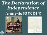 The Declaration of Independence Analysis BUNDLE