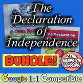 Declaration of Independence Resource Bundle: 2 Great Activities, 1 Great Price!