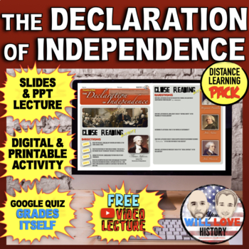 The Declaration of Independence Bundle