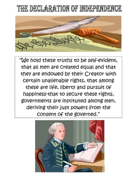 The Declaration of Independence (Condensed Version)