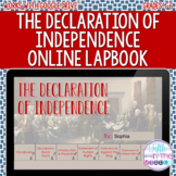 The Declaration of Independence ONLINE Interactive Noteboo
