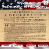 Mini-Lesson: The Declaration of Independence (distance learning option)