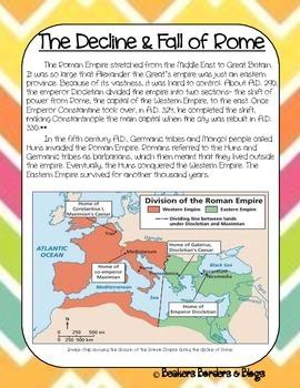 The Decline & Fall of Rome Socratic Seminar Lesson Plan