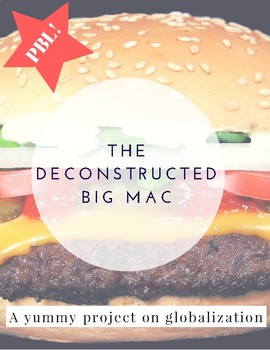 The Deconstructed Big Mac