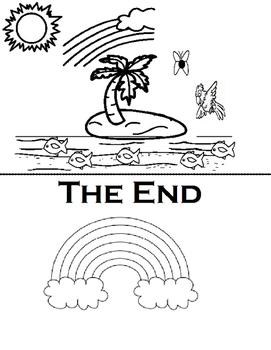 The Deep Blue Sea Easy Reader (Vocabualry, Speech)