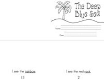 The Deep Blue Sea {retelling, reading, and writing activities}