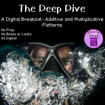 The Deep Dive Digital Breakout Additive and Multiplicative Patterns Escape Room