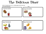 The Delicious Diner:  Money, Math, Addition, Worksheets, Mini Lesson