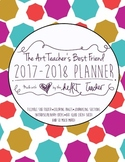 Art Teacher's Best Friend--(BEACH TOWEL COVER) 2017/2018 Planner