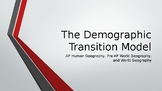 The Demographic Transition Model for Population