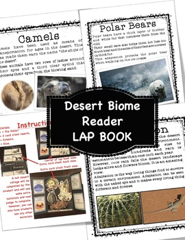 The Desert Biome Reader and Lap Book