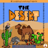 The Desert Bundle  (2 Sight Word Readers, 2 Teacher Lap Books, and Animal Cards)