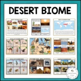 The Desert Biome | Nature Curriculum in Cards | Montessori