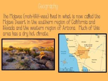 The Desert Region Native Americans