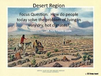 The Desert Region Native Americans