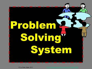 The Problem Solving Process