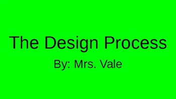 The Design Process PPT