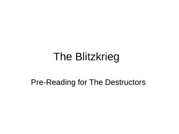 """""""The Destructors"""" by Graham Greene--Introductory Powerpoint"""