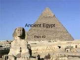 The Development of Civilizations- Ancient Egypt Part 2