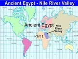 The Development of Civilizations- Ancient Egypt
