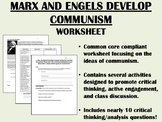 The Development of Communism - Marx & Engels - Global/World History  Common Core