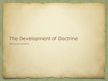 The Development of Doctrine