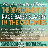 The Development of Race Based Slavery in Colonial Virginia Jamestown 13 Colonies
