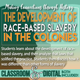 The Development of Race Based Slavery in Colonial Virginia Jamestown 13 Colonies