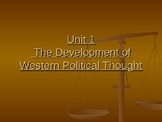 The Development of Western Political Thought
