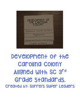 The Development of the Carolina Colonies