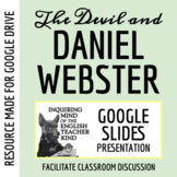 """The Devil and Daniel Webster"" by Stephen Vincent Benet - PowerPoint"