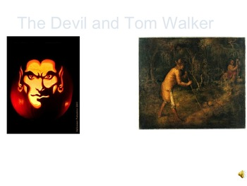 The Devil and Tom Walker - Modified version for non-readers