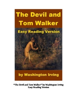 The Devil and Tom Walker Mp3 and Easy Reading Text