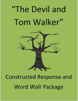 """""""The Devil and Tom Walker"""": Vocabulary, Word Wall, and Con"""