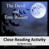 The Devil and Tom Walker (Washington Irving) Close Reading