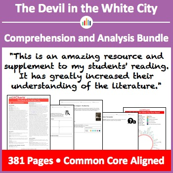 The Devil in the White City – Comprehension and Analysis Bundle