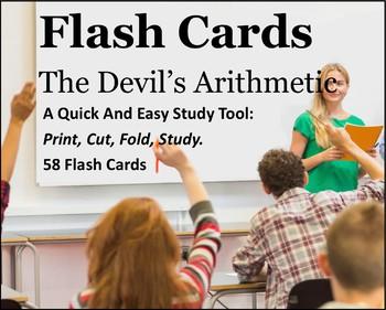 The Devil's Arithmetic Study Flash Cards