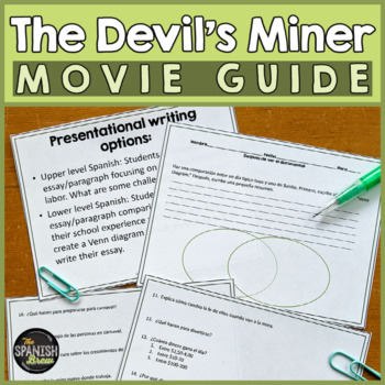 The Devil's Miner Spanish documentary (movie). Bundle