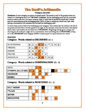 The Devil's Arithmetic: 20 Vocabulary Category Jumbles Puzzles—2 Versions!