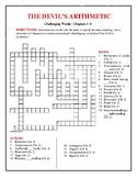 The Devil's Arithmetic: 5 Vocab Crosswords + 1 Comprehensive—50 cents each!