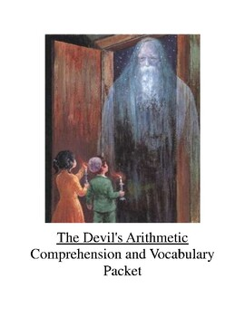 The Devil's Arithmetic Comprehension and Vocabulary Packet