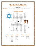 The Devil's Arithmetic: Characters' Names Fill-in Puzzle—Fun Downtime Activity!