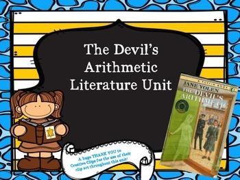 The Devil's Arithmetic Literature Unit Bundle
