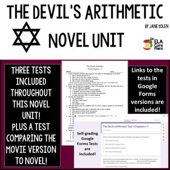 The Devil's Arithmetic Novel Unit Activities, Handouts, Tests