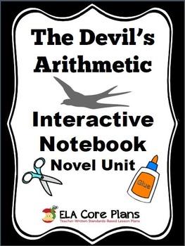 The Devil's Arithmetic Novel Unit Interactive Notebook Edition!
